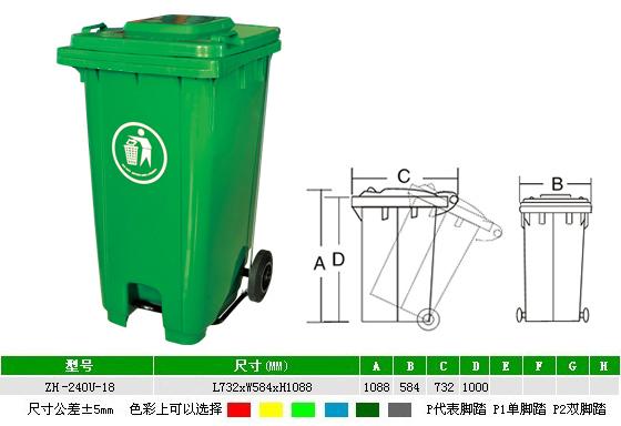 环卫垃圾桶的特点