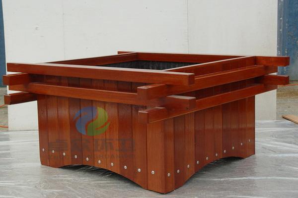 ZH-H002防腐木花箱