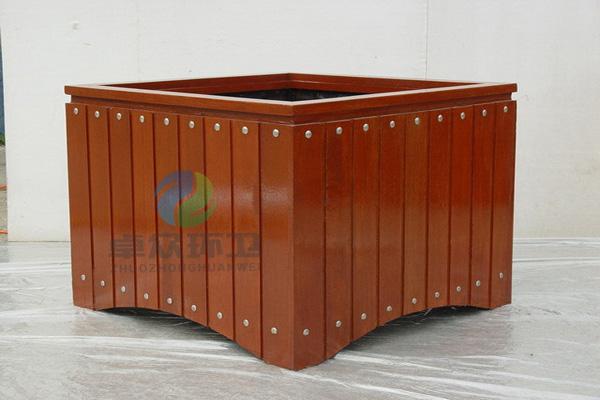 ZH-H005防腐木花箱